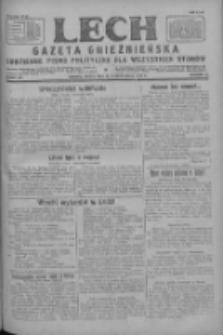 Lech.Gazeta Gnieźnieńska: codzienne pismo polityczne dla wszystkich stanów 1927.10.14 R.29 Nr234