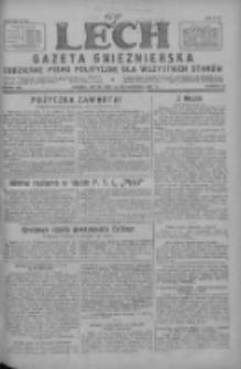 Lech.Gazeta Gnieźnieńska: codzienne pismo polityczne dla wszystkich stanów 1927.10.14 R.29 Nr236