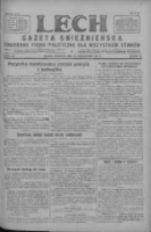 Lech.Gazeta Gnieźnieńska: codzienne pismo polityczne dla wszystkich stanów 1927.10.20 R.29 Nr241