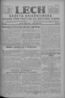 Lech.Gazeta Gnieźnieńska: codzienne pismo polityczne dla wszystkich stanów 1927.10.21 R.29 Nr242