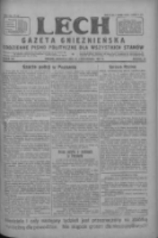 Lech.Gazeta Gnieźnieńska: codzienne pismo polityczne dla wszystkich stanów 1927.10.23 R.29 Nr244