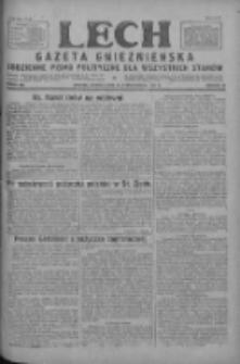 Lech.Gazeta Gnieźnieńska: codzienne pismo polityczne dla wszystkich stanów 1927.10.25 R.29 Nr245