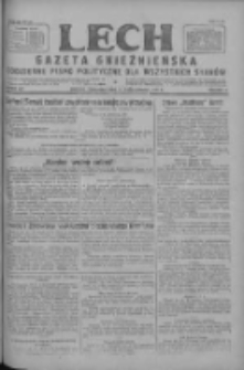 Lech.Gazeta Gnieźnieńska: codzienne pismo polityczne dla wszystkich stanów 1927.10.27 R.29 Nr247