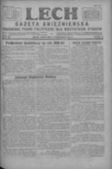 Lech.Gazeta Gnieźnieńska: codzienne pismo polityczne dla wszystkich stanów 1927.10.29 R.29 Nr249
