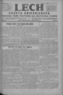 Lech.Gazeta Gnieźnieńska: codzienne pismo polityczne dla wszystkich stanów 1927.10.30 R.29 Nr250