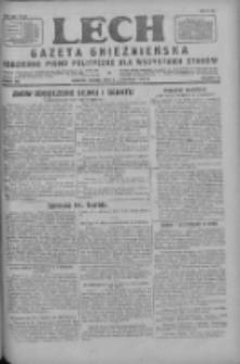Lech.Gazeta Gnieźnieńska: codzienne pismo polityczne dla wszystkich stanów 1927.11.05 R.29 Nr254
