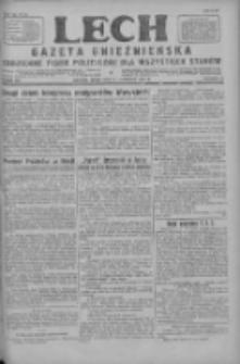 Lech.Gazeta Gnieźnieńska: codzienne pismo polityczne dla wszystkich stanów 1927.11.09 R.29 Nr257