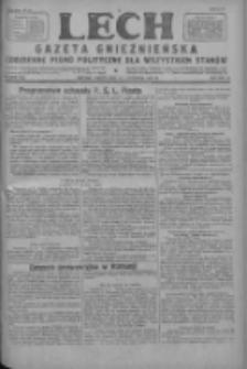Lech.Gazeta Gnieźnieńska: codzienne pismo polityczne dla wszystkich stanów 1927.11.11 R.29 Nr259