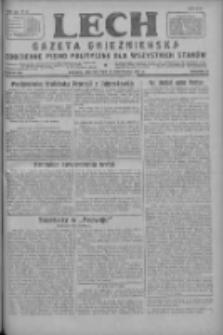 Lech.Gazeta Gnieźnieńska: codzienne pismo polityczne dla wszystkich stanów 1927.11.15 R.29 Nr262