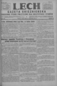 Lech.Gazeta Gnieźnieńska: codzienne pismo polityczne dla wszystkich stanów 1927.11.18 R.29 Nr265
