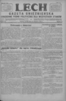 Lech.Gazeta Gnieźnieńska: codzienne pismo polityczne dla wszystkich stanów 1927.11.22 R.29 Nr268