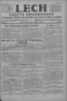 Lech.Gazeta Gnieźnieńska: codzienne pismo polityczne dla wszystkich stanów 1927.11.26 R.29 Nr272