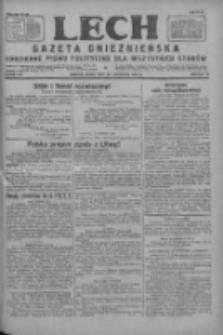 Lech.Gazeta Gnieźnieńska: codzienne pismo polityczne dla wszystkich stanów 1927.11.30 R.29 Nr275