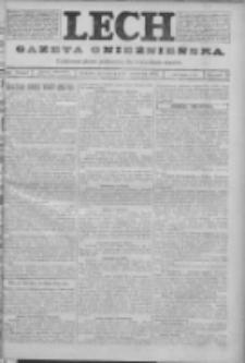 Lech. Gazeta Gnieźnieńska: codzienne pismo polityczne dla wszystkich stanów 1923.09.13 R.25 Nr207