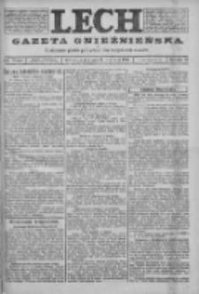 Lech. Gazeta Gnieźnieńska: codzienne pismo polityczne dla wszystkich stanów 1923.09.14 R.25 Nr208