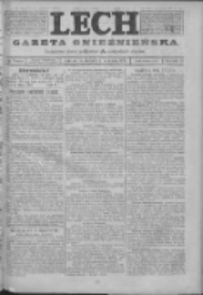 Lech. Gazeta Gnieźnieńska: codzienne pismo polityczne dla wszystkich stanów 1923.09.16 R.25 Nr210