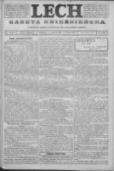 Lech. Gazeta Gnieźnieńska: codzienne pismo polityczne dla wszystkich stanów 1923.09.20 R.25 Nr213