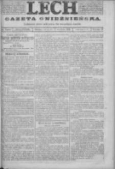 Lech. Gazeta Gnieźnieńska: codzienne pismo polityczne dla wszystkich stanów 1923.09.22 R.25 Nr215