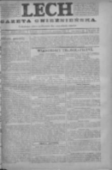 Lech. Gazeta Gnieźnieńska: codzienne pismo polityczne dla wszystkich stanów 1923.09.26 R.25 Nr218