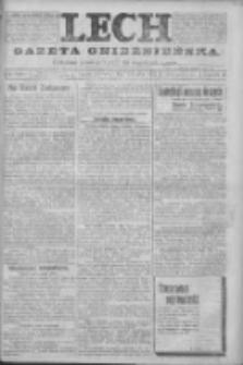 Lech. Gazeta Gnieźnieńska: codzienne pismo polityczne dla wszystkich stanów 1923.11.01 R.25 Nr249