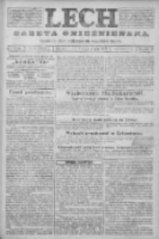 Lech. Gazeta Gnieźnieńska: codzienne pismo polityczne dla wszystkich stanów 1923.11.22 R.25 Nr266