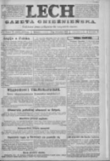 Lech. Gazeta Gnieźnieńska: codzienne pismo polityczne dla wszystkich stanów 1923.11.29 R.25 Nr272