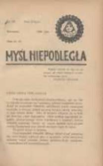 Myśl Niepodległa 1928 Nr927