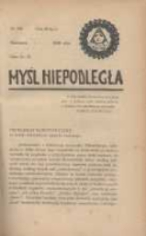 Myśl Niepodległa 1928 Nr928