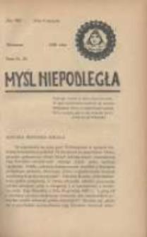 Myśl Niepodległa 1929 Nr929
