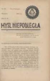 Myśl Niepodległa 1928 Nr943