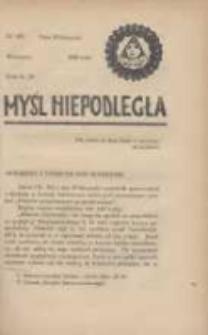 Myśl Niepodległa 1928 nr945