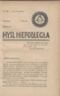 Myśl Niepodległa 1928 Nr949