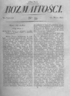 Rozmaitości. Pismo Dodatkowe do Gazety Lwowskiej. 1822 R.2 nr33