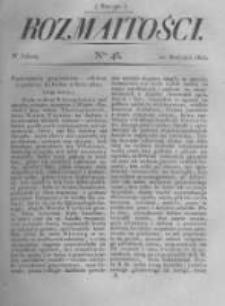 Rozmaitości. Pismo Dodatkowe do Gazety Lwowskiej. 1822 R.2 nr46