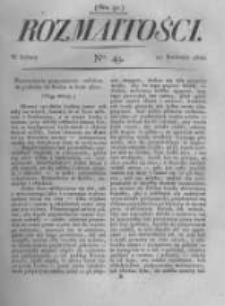 Rozmaitości. Pismo Dodatkowe do Gazety Lwowskiej. 1822 R.2 nr49