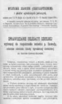 Ogrodnik Polski. 1896 R.18 nr20
