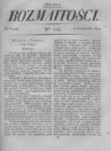 Rozmaitości. Pismo Dodatkowe do Gazety Lwowskiej. 1822 R.2 nr115