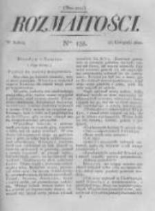 Rozmaitości. Pismo Dodatkowe do Gazety Lwowskiej. 1822 R.2 nr135