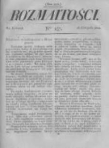 Rozmaitości. Pismo Dodatkowe do Gazety Lwowskiej. 1822 R.2 nr137