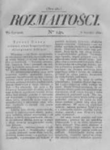 Rozmaitości. Pismo Dodatkowe do Gazety Lwowskiej. 1822 R.2 nr140