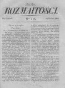 Rozmaitości. Pismo Dodatkowe do Gazety Lwowskiej. 1822 R.2 nr143