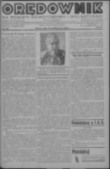 Orędownik na powiaty nowotomyski i wolsztyński 1936.10.27 R.17 Nr123