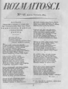 Rozmaitości. Pismo Dodatkowe do Gazety Lwowskiej. 1824 R.4 nr47