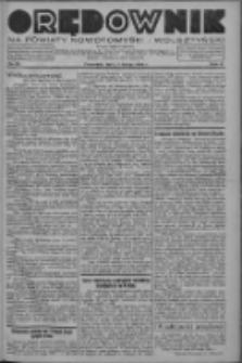 Orędownik na powiaty nowotomyski i wolsztyński 1936.02.27 R.17 Nr23