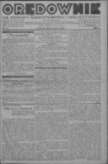 Orędownik na powiaty nowotomyski i wolsztyński 1936.03.19 R.17 Nr32
