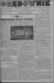 Orędownik na powiaty nowotomyski i wolsztyński 1936.07.11 R.17 Nr77
