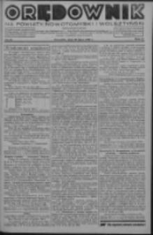 Orędownik na powiaty nowotomyski i wolsztyński 1936.07.30 R.17 Nr85