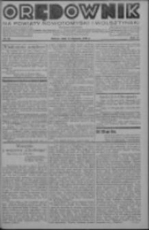 Orędownik na powiaty nowotomyski i wolsztyński 1936.08.15 R.17 Nr92