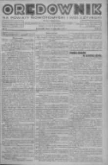Orędownik na powiaty nowotomyski i wolsztyński 1937.01.14 R.18 Nr4