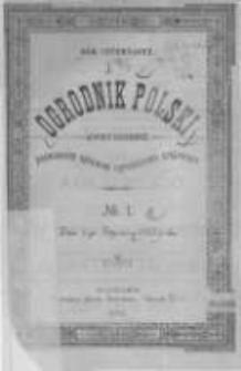 Ogrodnik Polski. 1892 R.14 nr1
